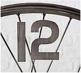 Настольные часы «Колесо Жизни» металл h52см, фото 5