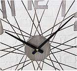 Настольные часы «Колесо Жизни» металл h52см, фото 4