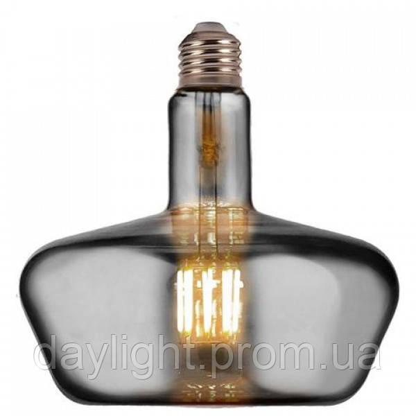 Светодиодная лампа Filament GINZA-XL 8W Е27 Titanium