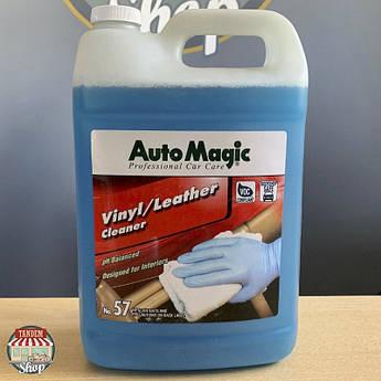 Очиститель для кожи и винила Auto Magic №57 Vinyl/Leather Cleaner, 3,785 л (1 галлон)