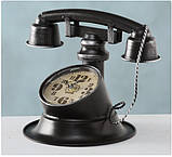 Настольные часы «Телефон Ретро» металл h21см, фото 4