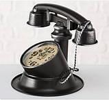 Настольные часы «Телефон Ретро» металл h21см, фото 2