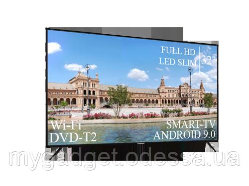 "Современный Телевизор Liberton 32"" Smart-TV/FullHD/DVB-T2/USB  Android 9.0"