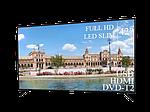 """Современный Телевизор Liberton 42"""" FullHD/DVB-T2/USB, фото 4"""