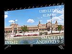 """Современный Телевизор Liberton 56"""" Smart-TV//DVB-T2/USB АДАПТИВНЫЙ UHD,4K/Android 9.0, фото 2"""