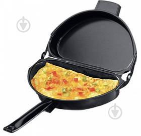 Подвійна сковорода для омлету Folding Omelette Pan | Омлетница з антипригарним покриттям