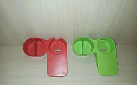 Прищіпка тримач на стіл для чашки, склянки, пляшки комплект 2 шт
