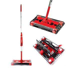 Універсальний електровіник зі складною конструкцією Swivel Sweeper G6 Pro Max Червоний