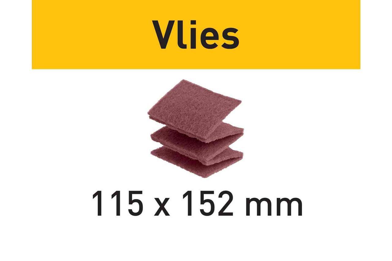 Шліфувальний матеріал Vlies 115x152 FN 320 VL/30