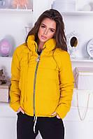 Женская куртка осень/весна с 42 по 48 рр плащёвка с утеплителем