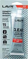 Герметик-прокладка Прозорий Високотемпературний 85 г LAVR