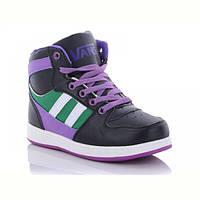 Осенние детские ботинки на шнуровке