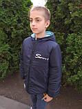 Двостороння курточка на хлопчика ріст 122 модель Бив, фото 4