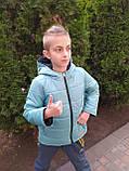 Двостороння курточка на хлопчика ріст 122 модель Бив, фото 3