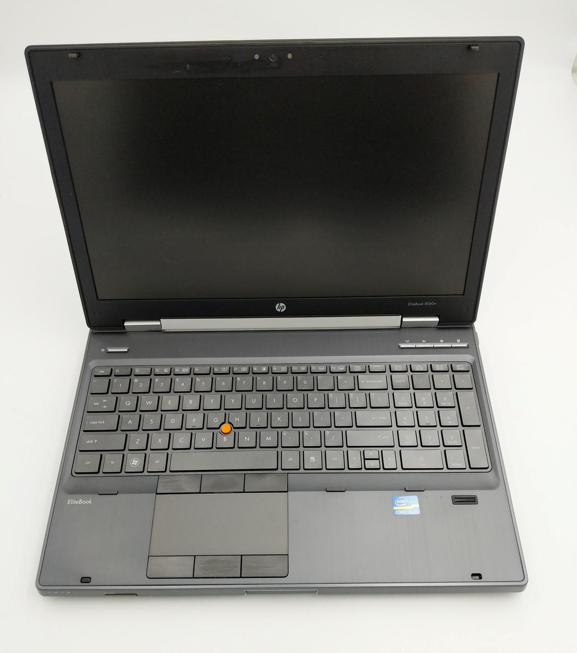 Б/У HP EliteBook 8560w 15.6″ HD+ i5-2540M /DDR3 8 Gb /SSD 240Gb Нет в наличии 3