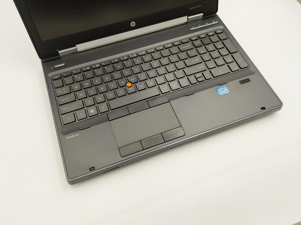 Б/У HP EliteBook 8560w 15.6″ HD+ i5-2540M /DDR3 8 Gb /SSD 240Gb Нет в наличии 4