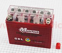 Аккумулятор  Mototech  7Аh MOTO 12N7BL-BS гелевый (L145*W60*H130mm)
