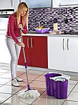 Комплект для прибирання Magic 20 л рожевий, фото 2