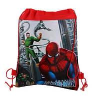 Сумка-мешок/рюкзак для спортивной формы и сменной обуви с мультяшным принтом «Spider Man»