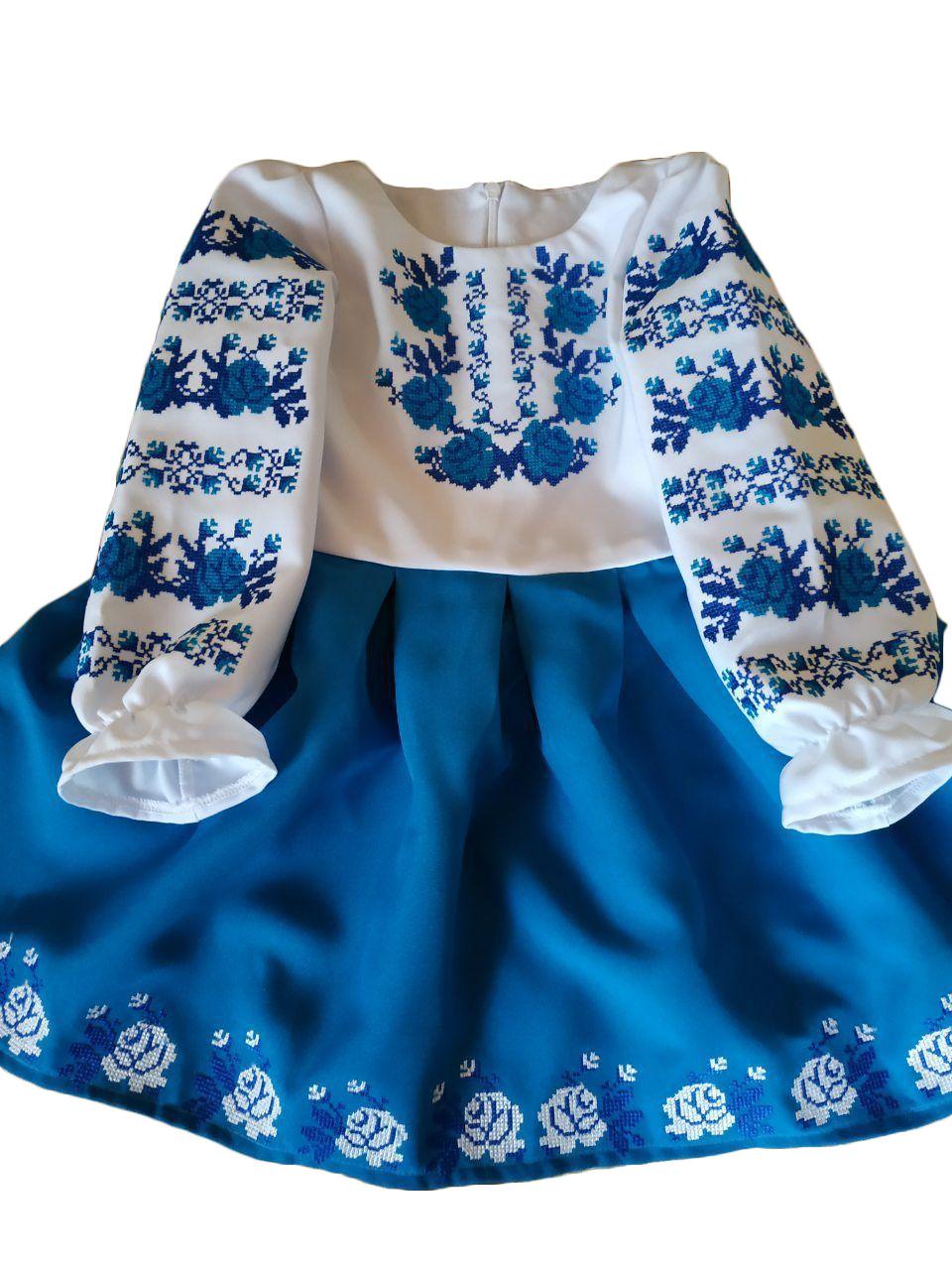 """Вишите плаття для дівчинки """"Грета"""" (Вышитое платье для девочки """"Грета"""") DT-0011"""
