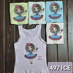 """Дитяча майка для дівчинки """"Candy Princess"""" Donella (Туреччина) 8/9-4971CE"""