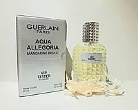 Женский тестер Aqua Allegoriya Mandarines Basilic Vip (Мандарин Базилик) 60 мл