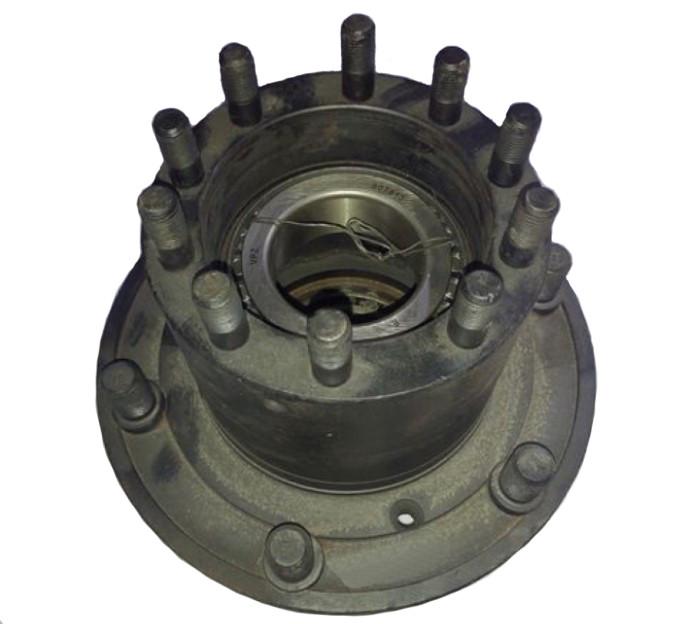 Ступица колеса заднего ГАЗ 53,3307 левая в сборе (с подшипн. и шпильками) 53-3104015-02