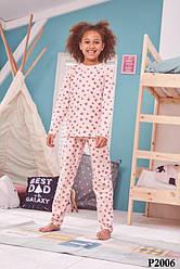 Пижама детская для девочек Donella (Турция) 6/7-P2006 | 1 шт.