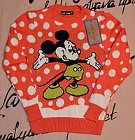 Детский свитер с микки маусом Udi kids  5-6