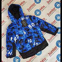 Цветная зимняя куртка на мальчика подростка  оптом, фото 1