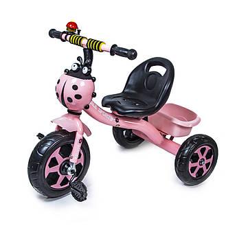 Трехколесный велосипед Scale Sport Розовый