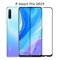 Защитное стекло с рамкой для Huawei P Smart 2019