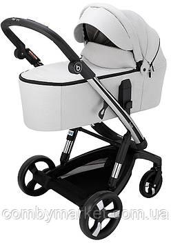 Детская коляска 2 в 1 Bair Electra B-touch system (с электронной системой торможения) Серый