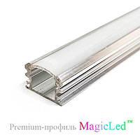 Алюминиевый накладной профиль для светодиодной ленты №9, фото 1