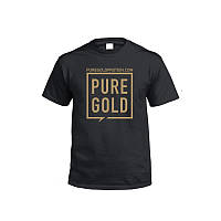 Одежда Футболка Pure Gold Protein, черная L