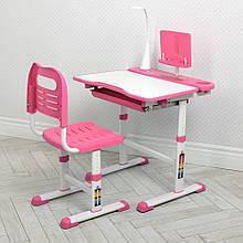 Детская парта М 4428-8 розовая со стульчиком
