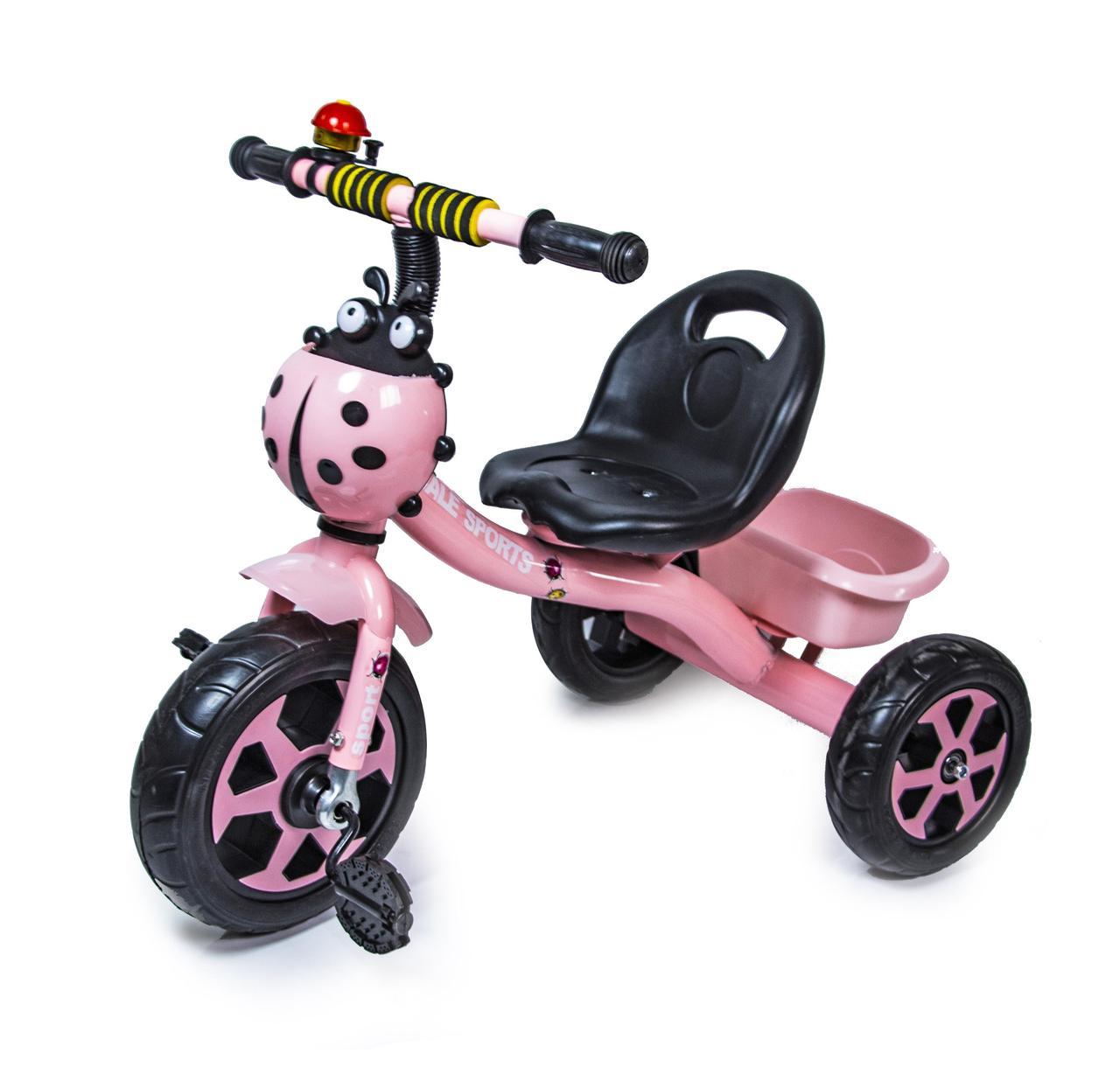Трехколесный велосипед Scale Spors Розовый
