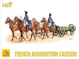French Ammunition Caisson. 1/72 HAT 8101