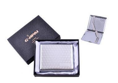 Портсигар классический на 20 сигарет в подарочной коробке №4375-5