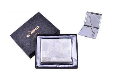 Портсигар классический на 20 сигарет в подарочной коробке №4375-4