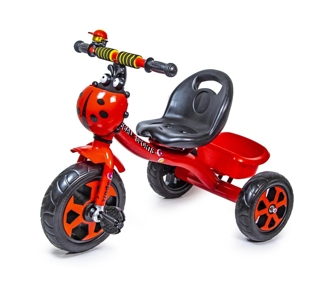Трехколесный велосипед Scale Spors Красный