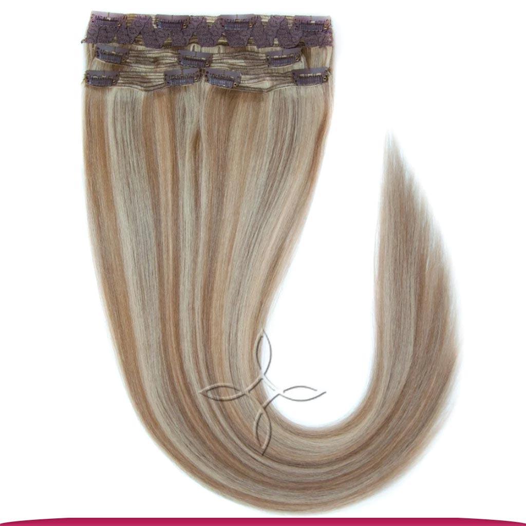 Натуральные Славянские Волосы на Заколках 55-60 см 115 грамм, Милировка №5B-22B