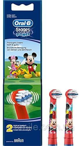Насадки для зубных щеток Oral-B KIDS Микки Маус (ціна за одну насадку)