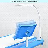 Детская парта М 4428-4 синяя со стульчиком, фото 4
