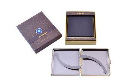 Портсигар в подарочной упаковке GVIPAI (Кожа, на 20 шт) №XT-4986-8