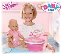 Оригинал. Интерактивный Горшок со звуком для куклы Baby Born Zapf Creation 819890R
