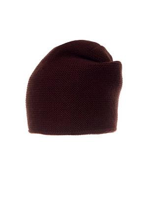 Красивая теплая вязаная женская шапка мелкой вязки., фото 2