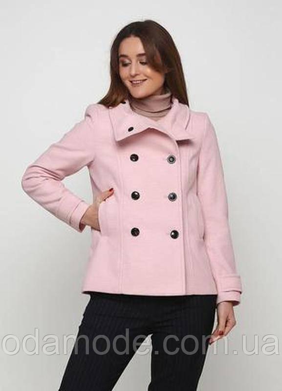 Женское полупальто  розового цвета бренда H&M