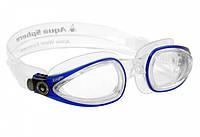 Очки для плавания Aqua Sphere EAGLE (Прозрачно-синий, линзы под диоптрии прозрачные)