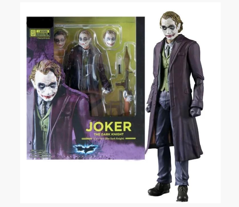 Колекційна фігурка іграшка Джокер The Dark Knight Joker, Neca